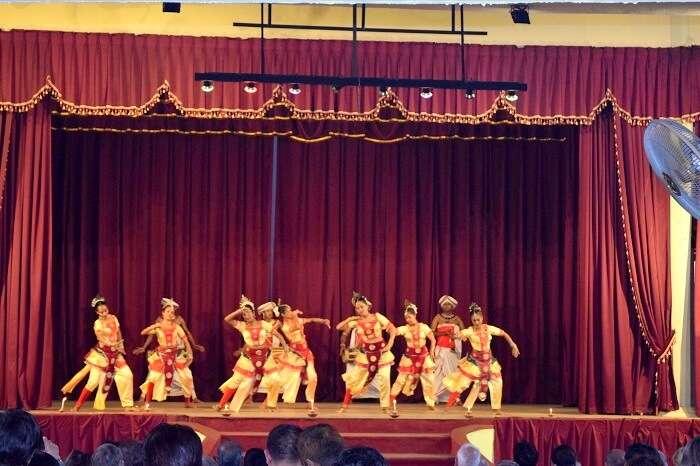 cultural performances in Sri Lanka