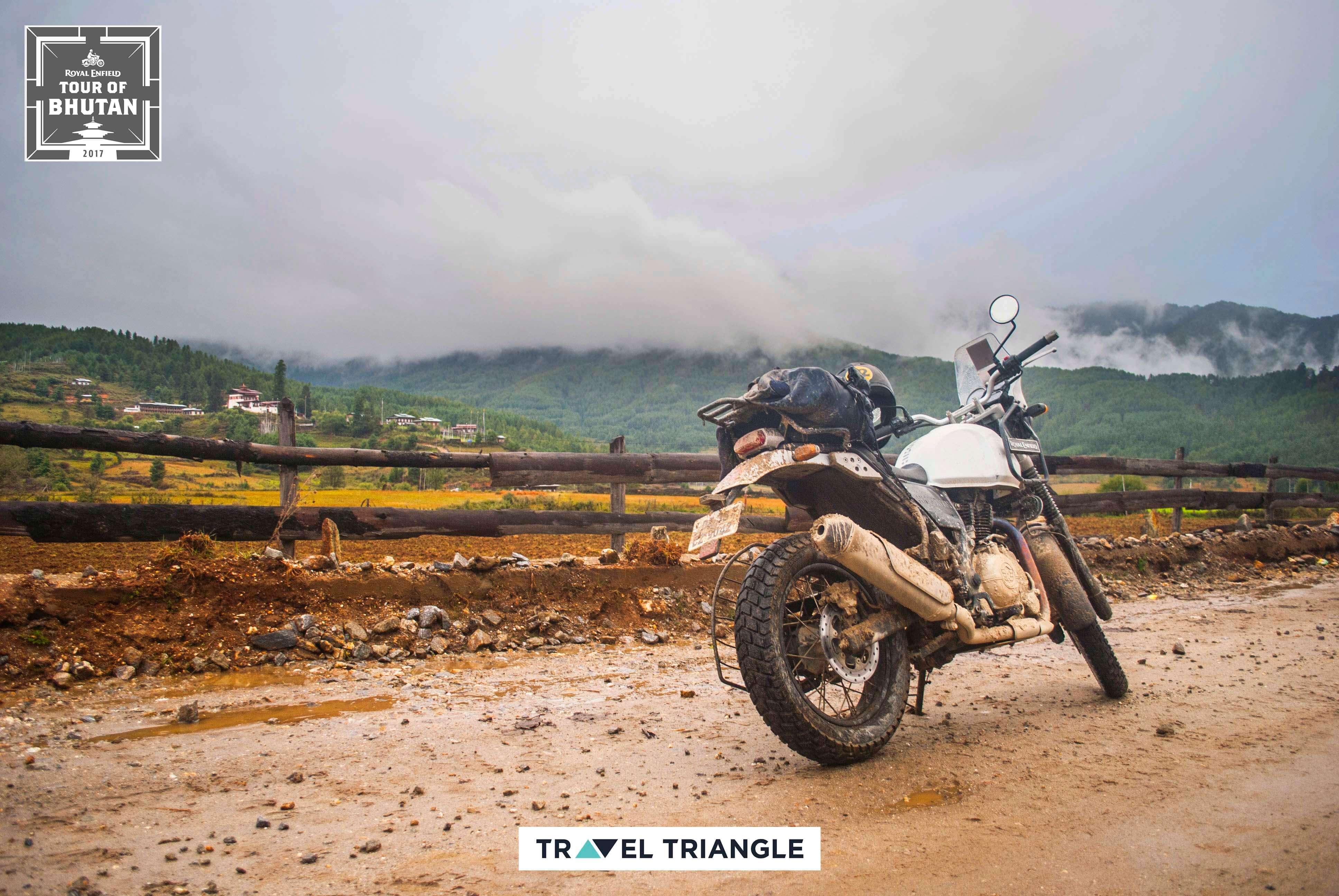 Phobjikha to Bumthang: siddharth's bike in bhutan