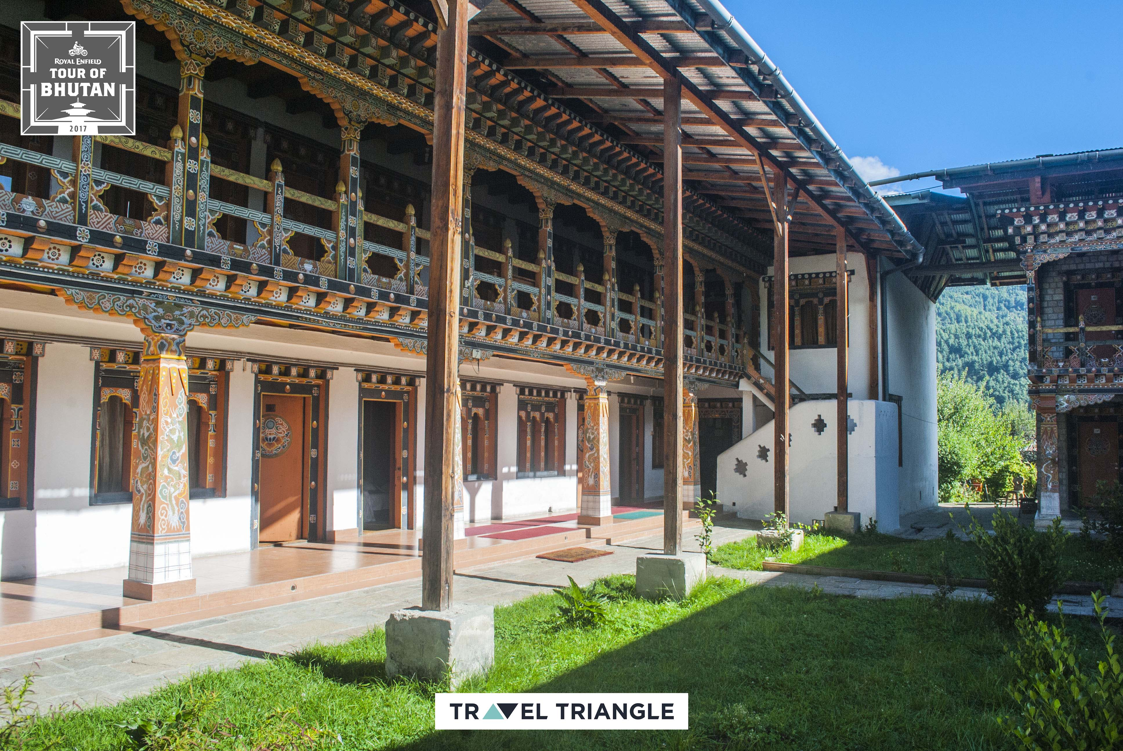 Bumthang to Mongar: a hotel in mongar
