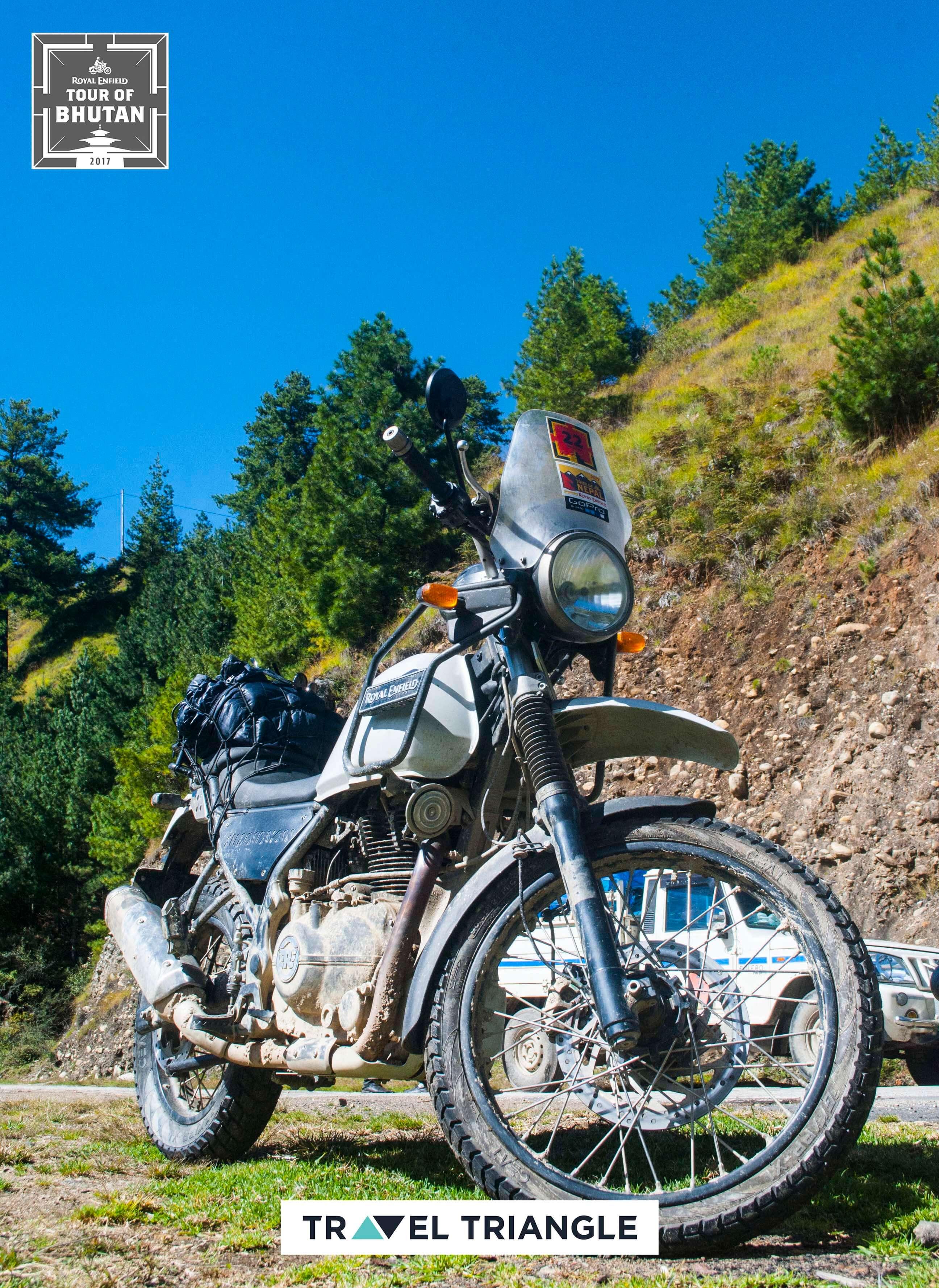 royal enfield india bhutan road trip: a royal enfield