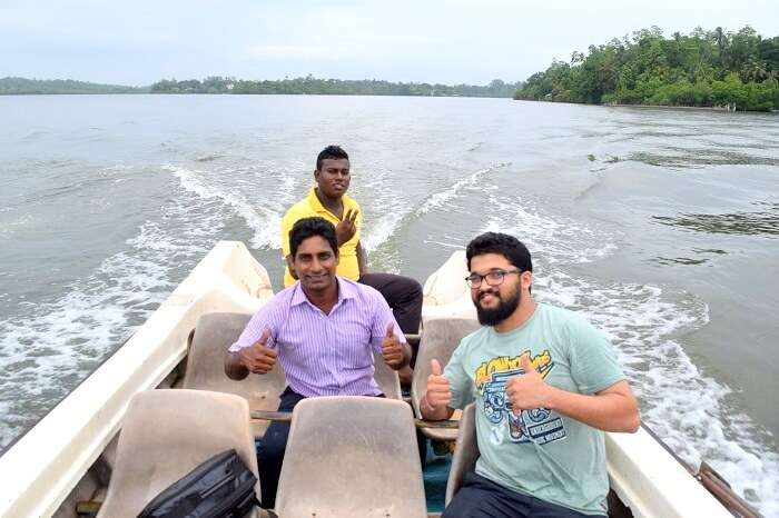 river cruise in Sri Lanka