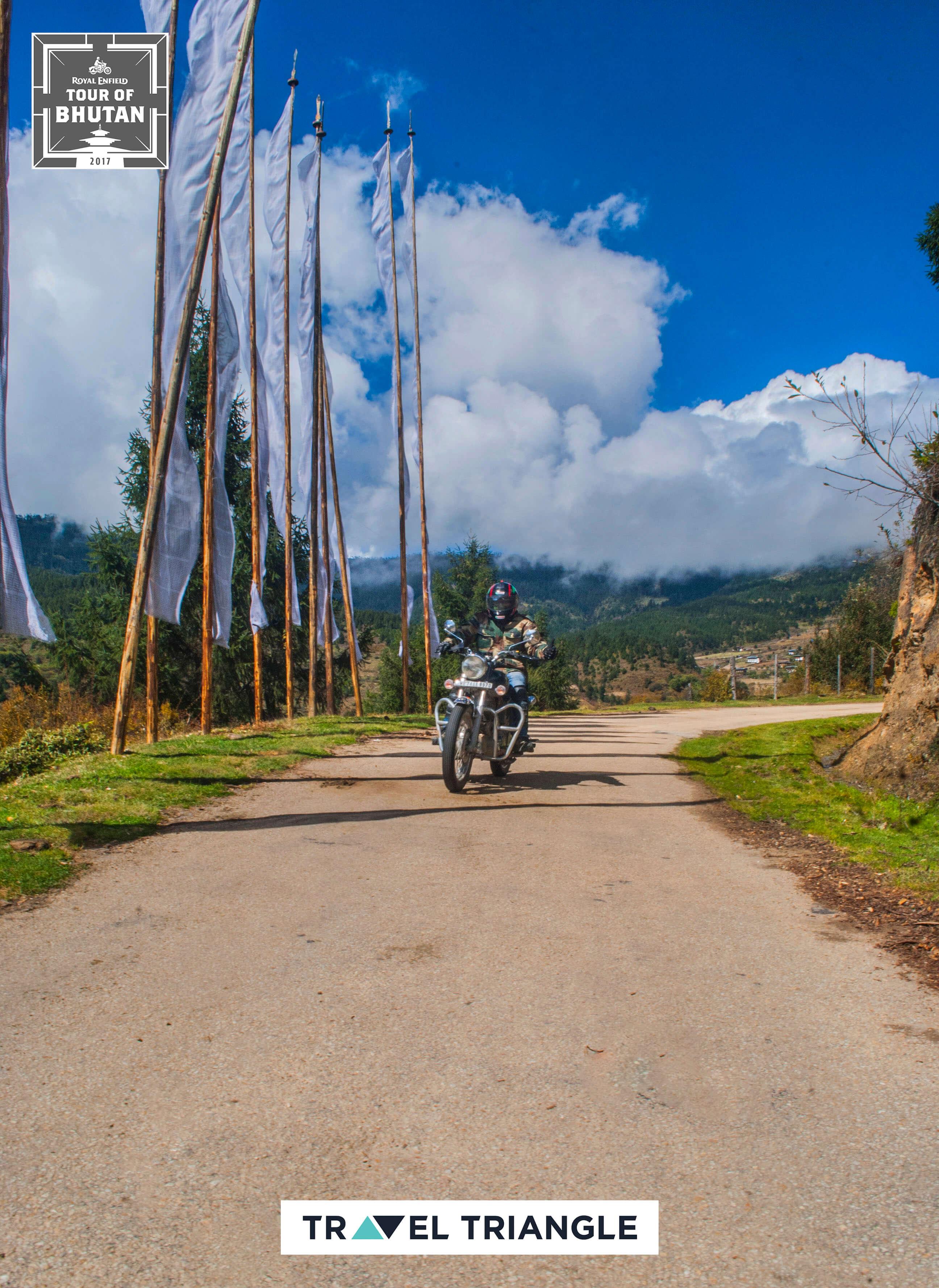 Bumthang to Mongar: riding through beautiful landscapes
