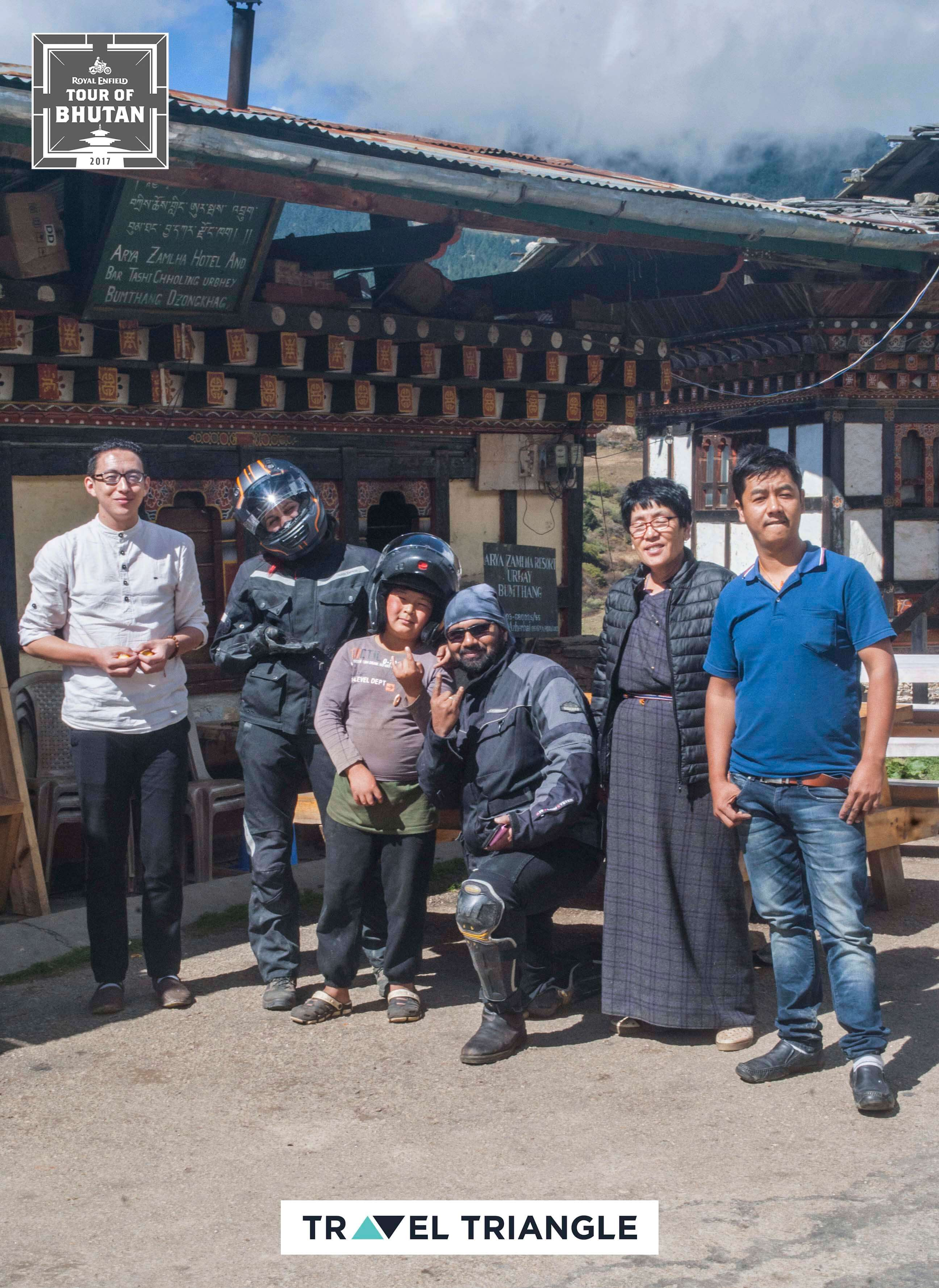 Bumthang to Mongar: meeting friendly locals
