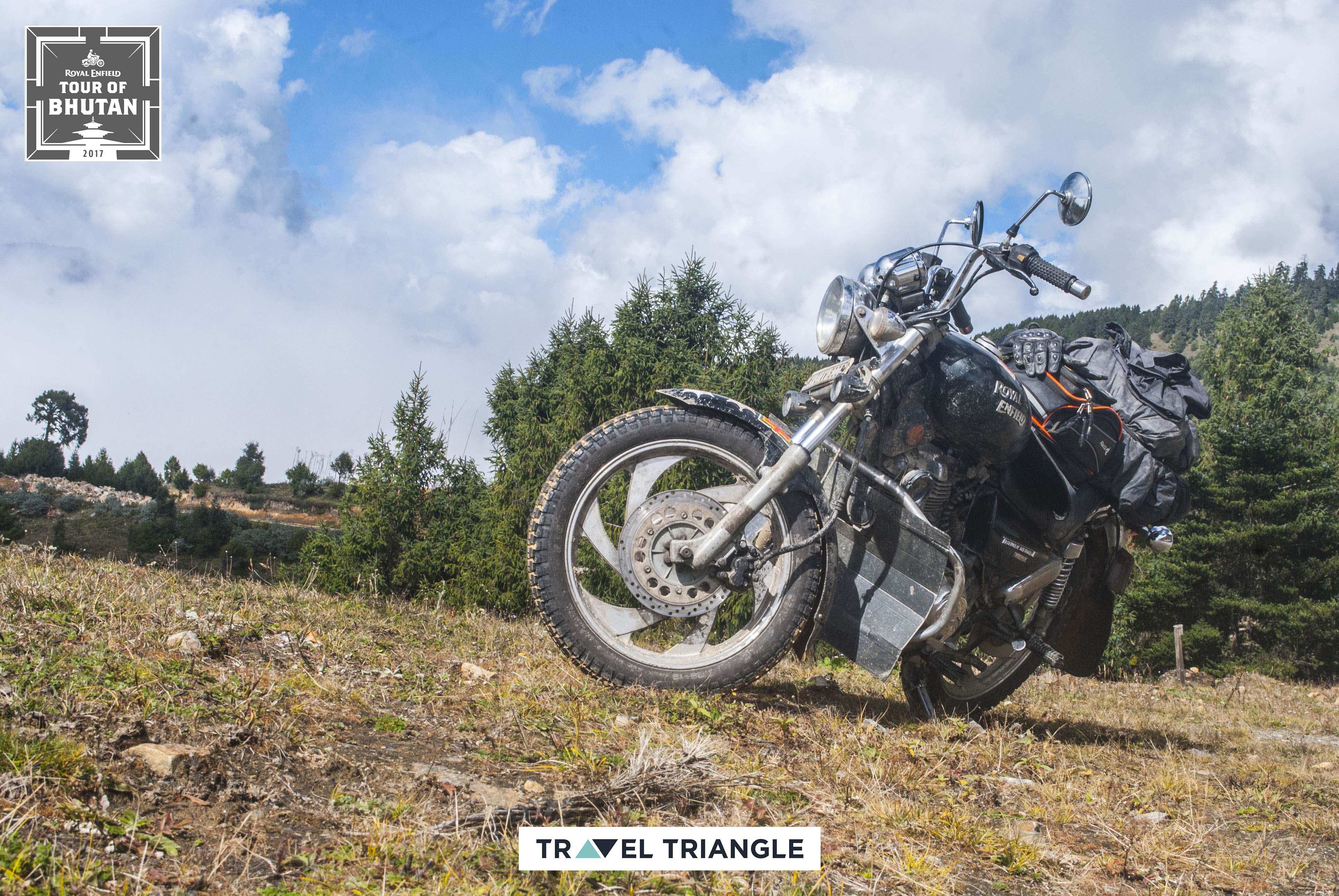 Bumthang to Mongar: siddharth's bike