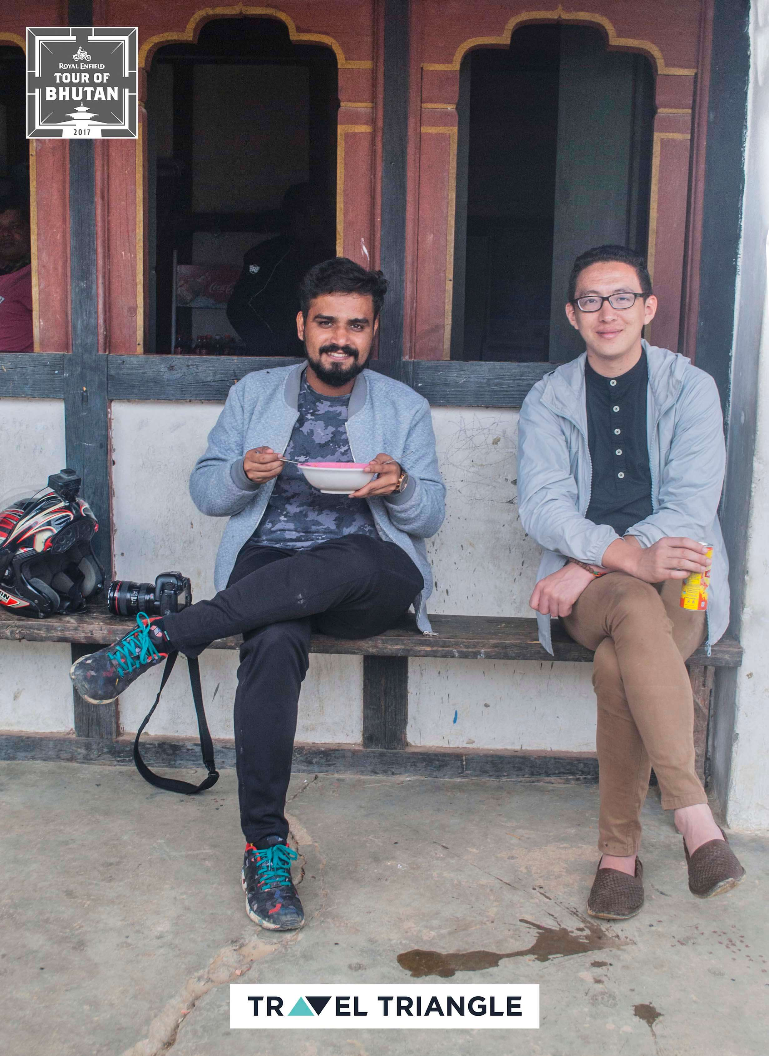 Mongar to Trashigang: chilling with the riders