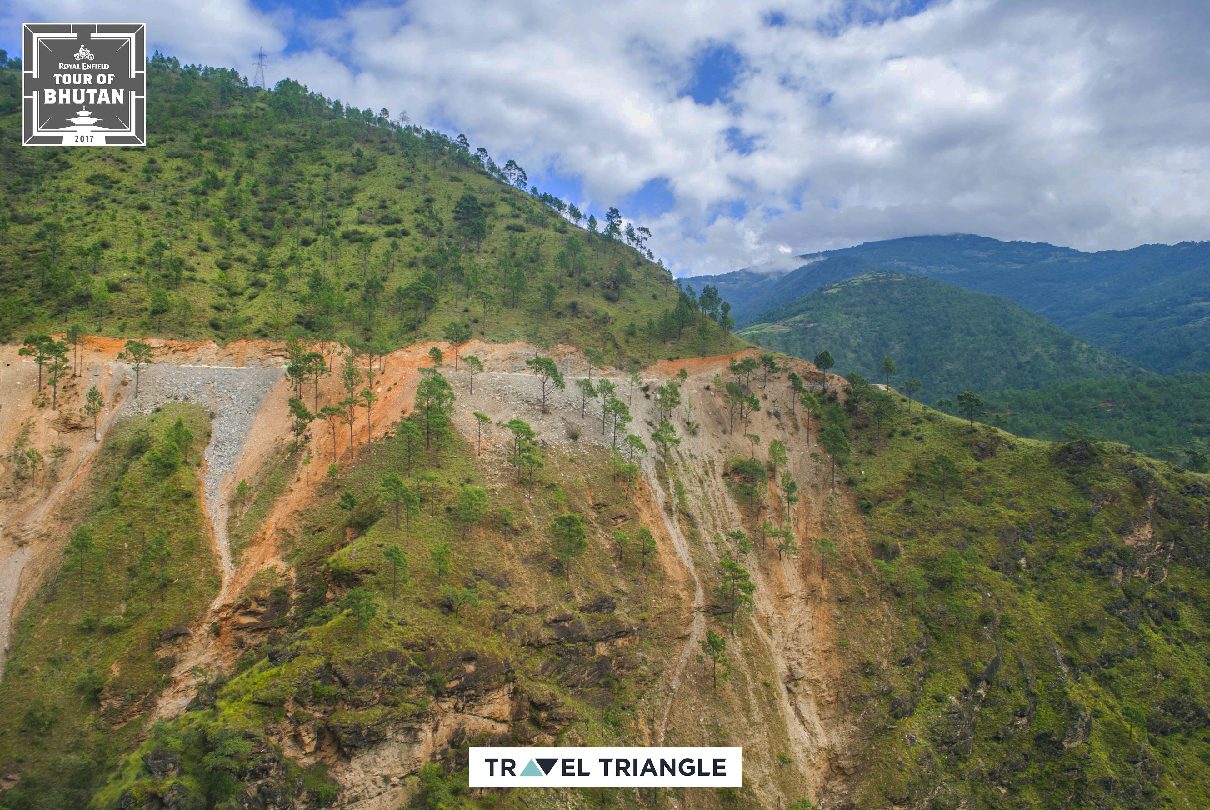 Mongar to Trashigang: the hills