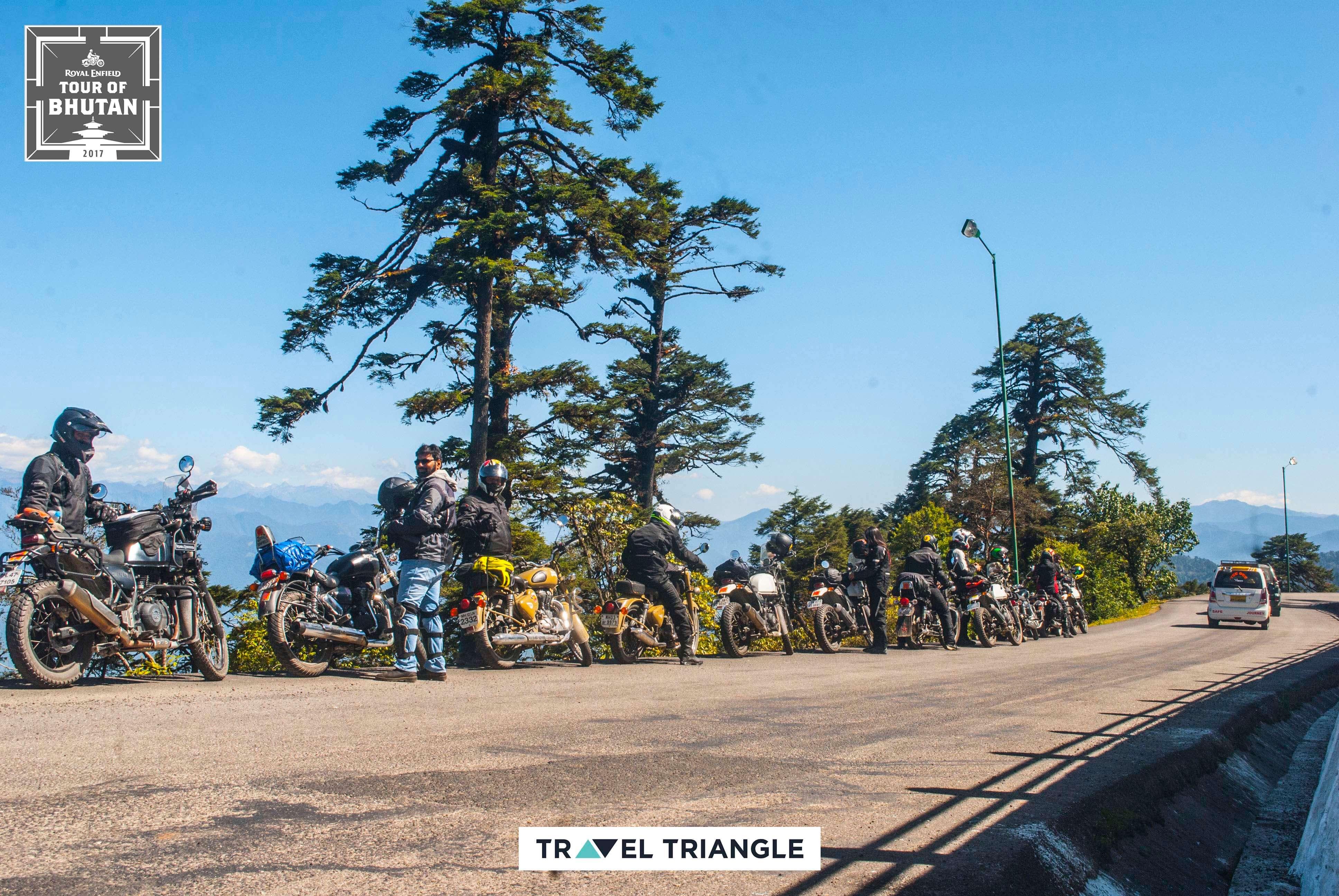 Thimphu to Punakha: the riders