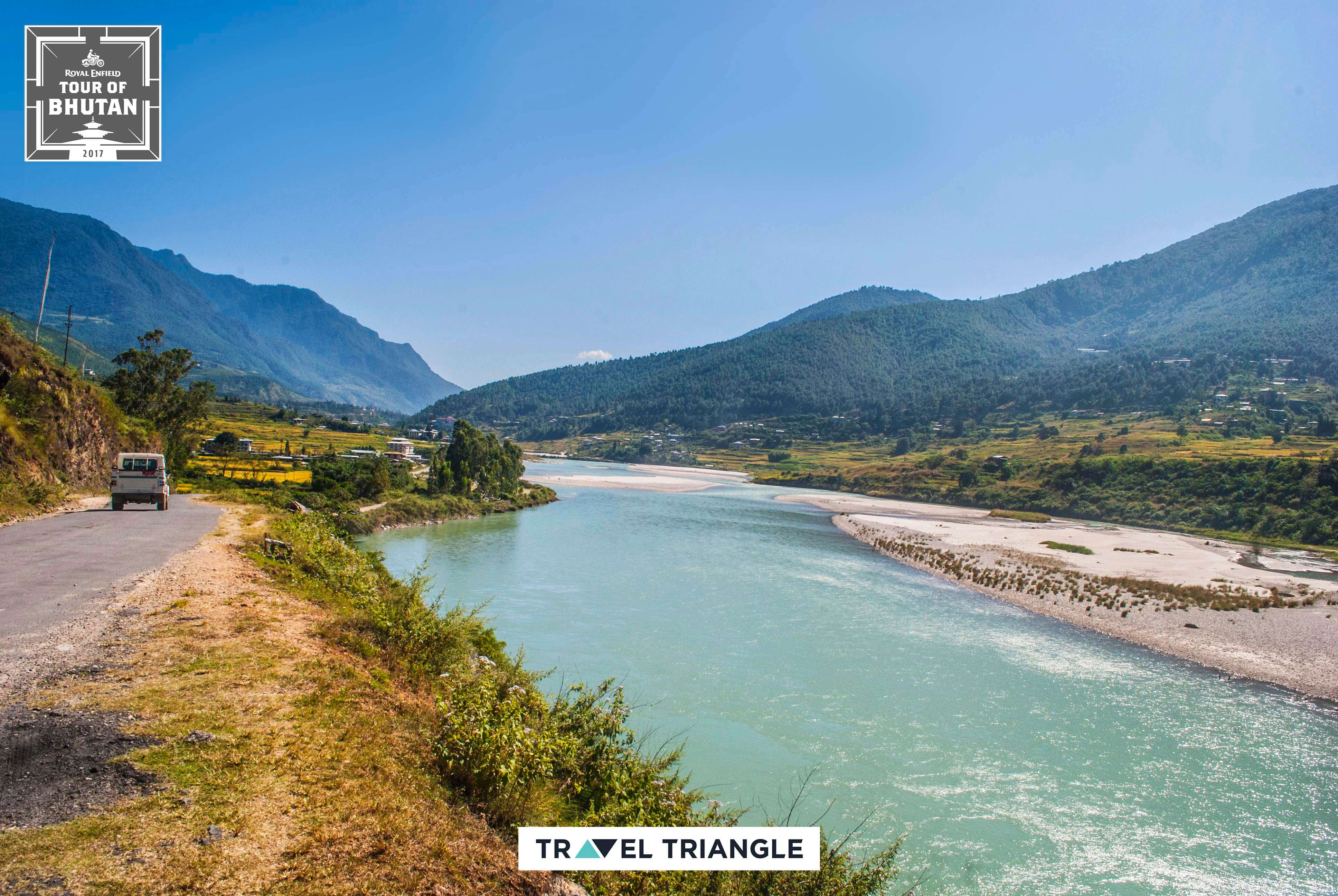 Thimphu to Punakha: the scenic vistas and river