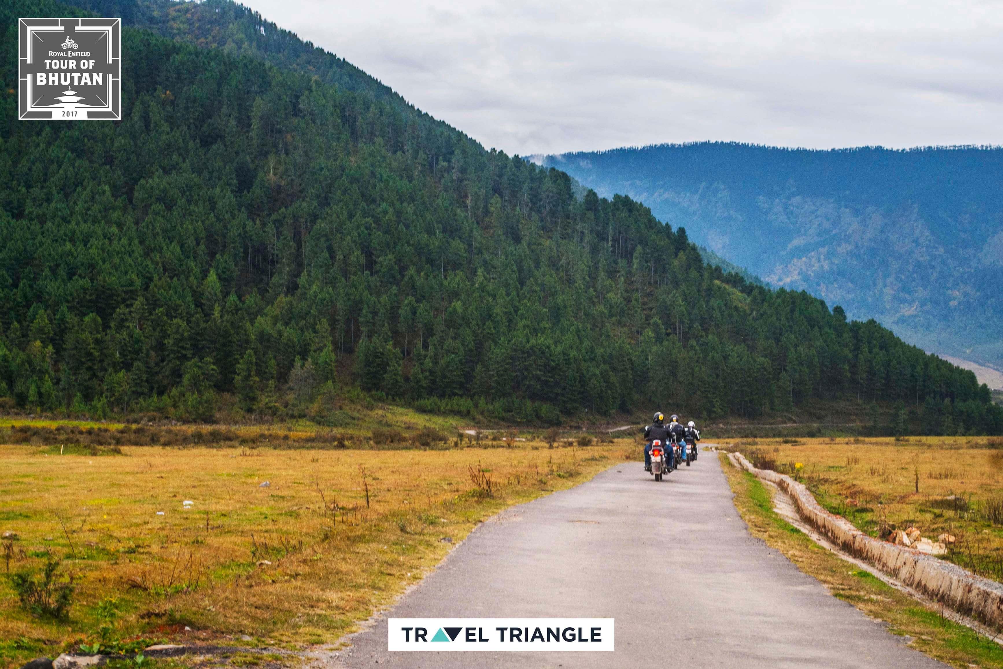 Punakha to Phobjikha: riding through Bhutan's hills and fields