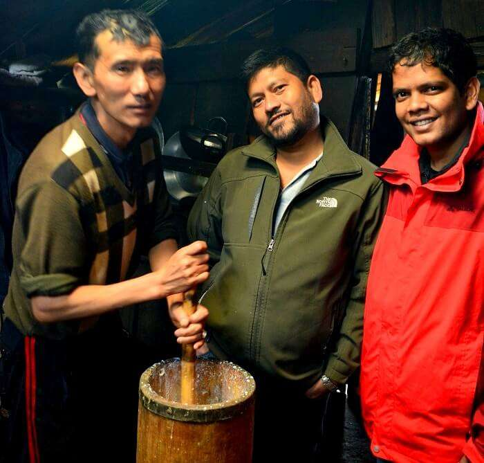 fermenting beer in sikkim