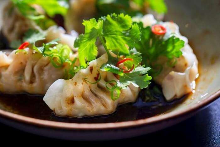 enjoy authentic dumplings at the Dumpling Festival