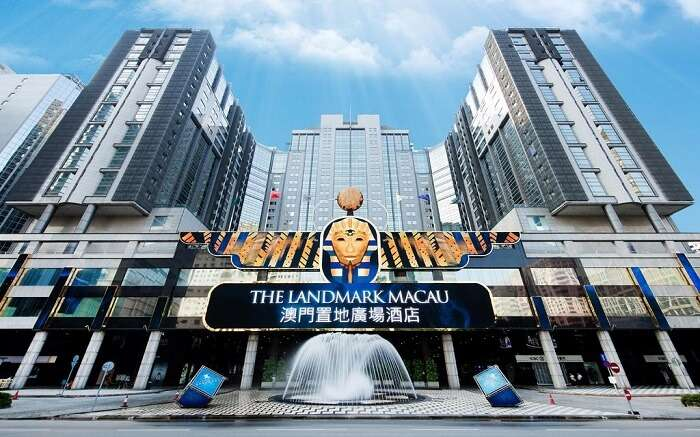 Entrance of a casino