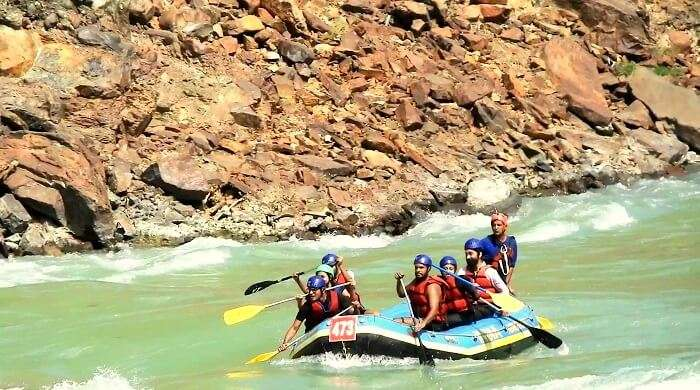 water sports in uttarakhand