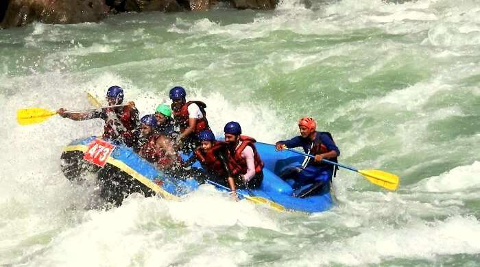 water sports in rishikesh