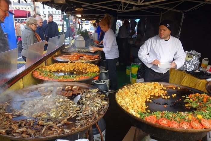 gorge on fresh herring at Herring Festival, one of the best food festivals around the world