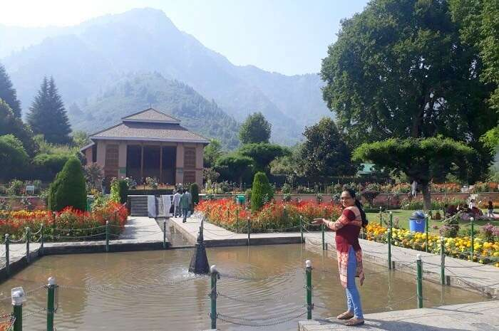 fountains in Kashmir