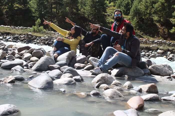 Baspa river in Spiti