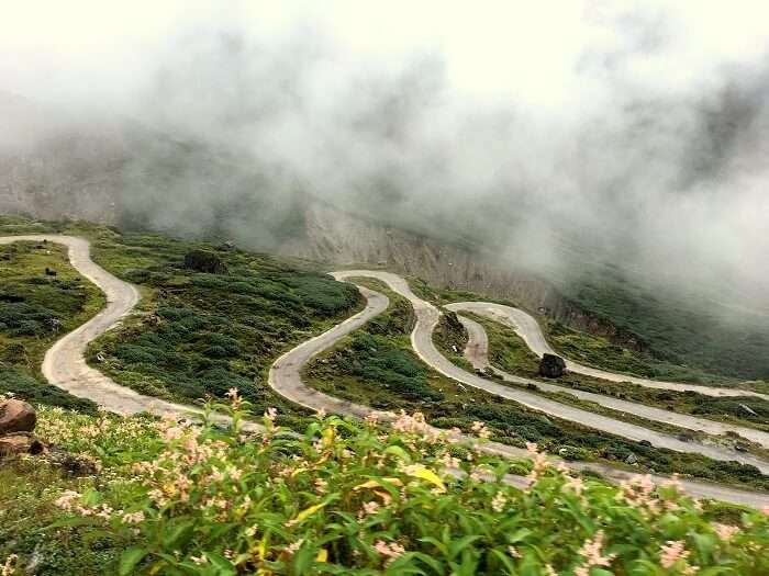 highway in sikkim