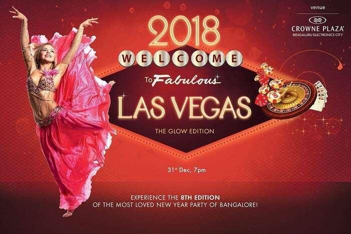 Las Vegas 2018 bangalore new year party