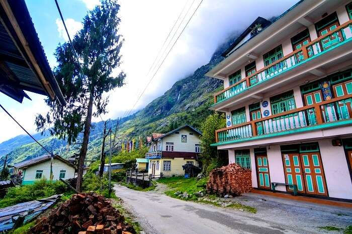 houses in sikkim