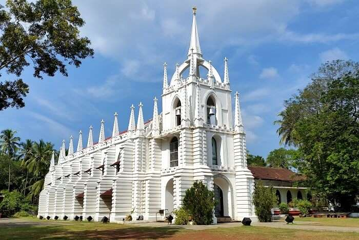 visit Mae De Deus Church in goa