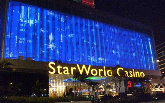 Main gate of a casino