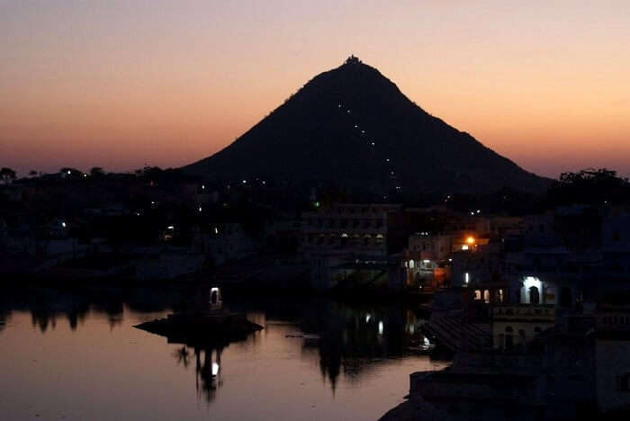 naha pahar near pushkar fair