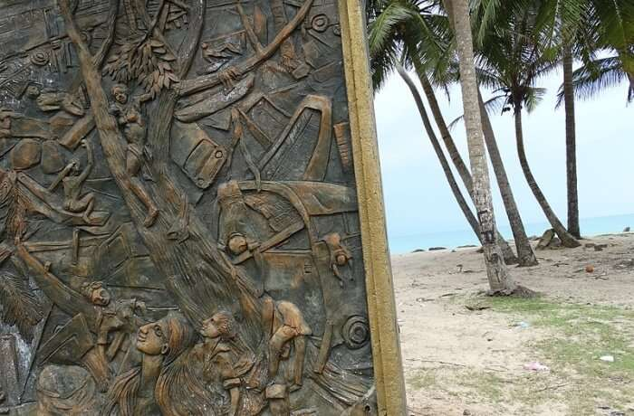Pay your respects at the Tsunami Memorial on the Yala beach