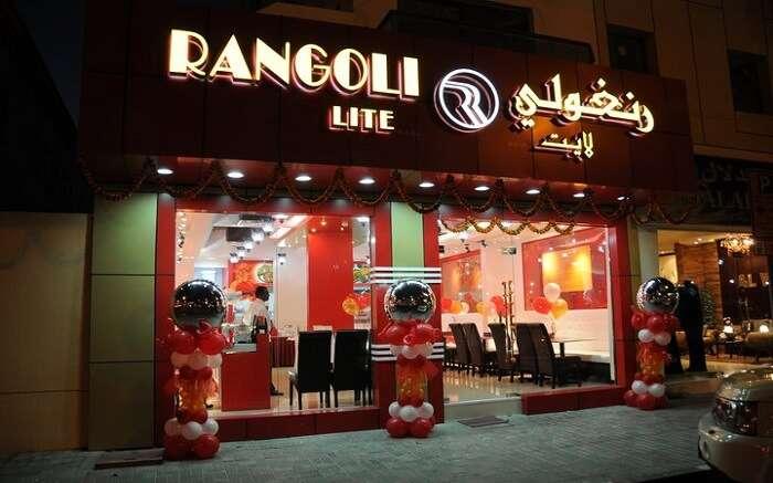 Rangoli Restaurant in Dubai