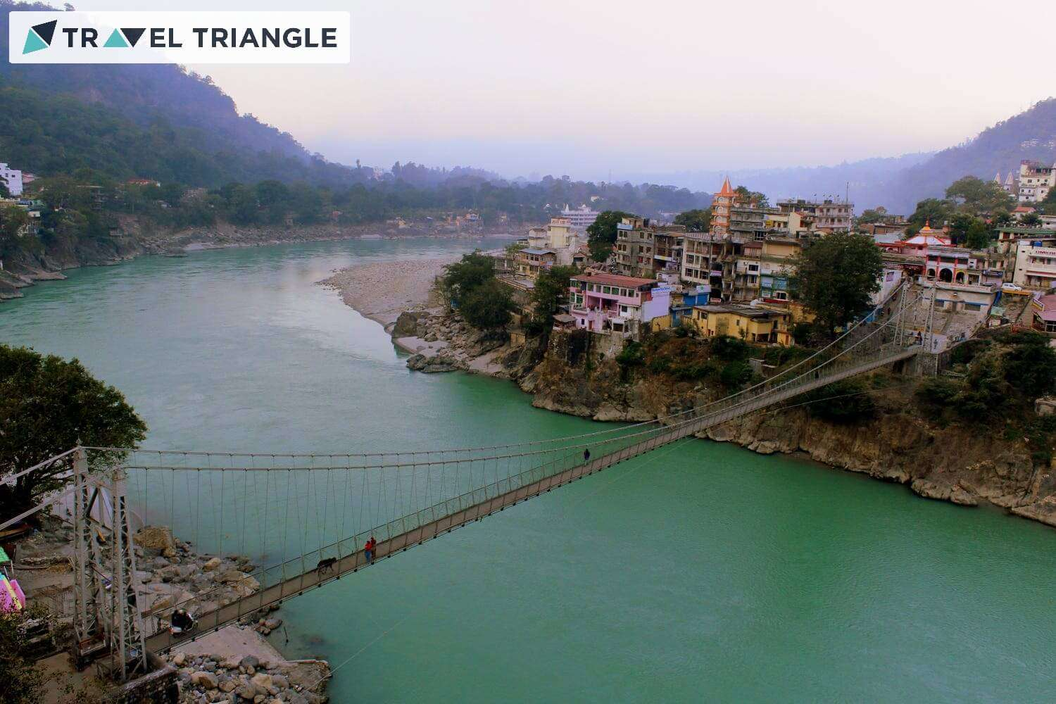 a bridge over ganges river