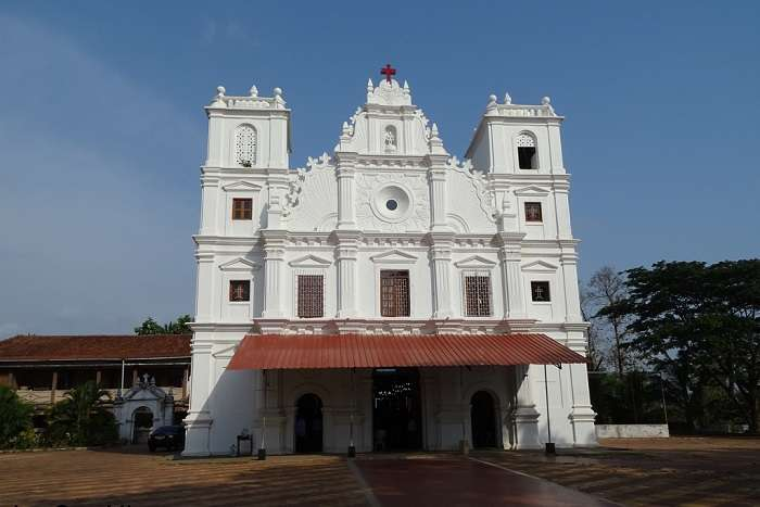 visit St. John the Baptist Church in goa