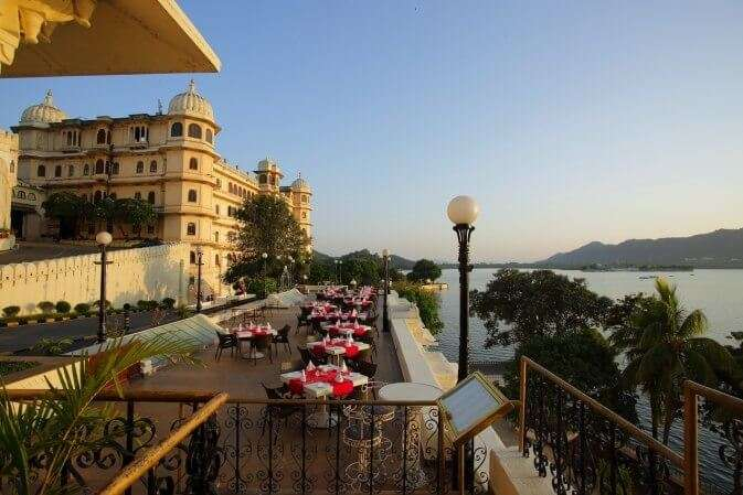 dine at Sunset Terrace in udaipur