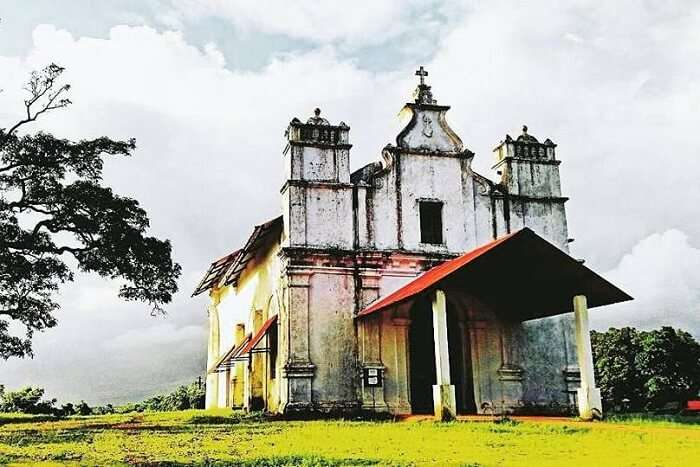 visit Three Kings Chapel in goa