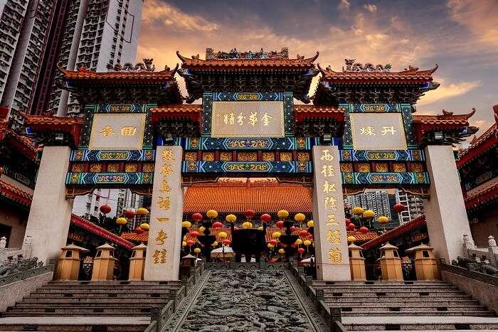 Wong Tai Sin Temple hong kong