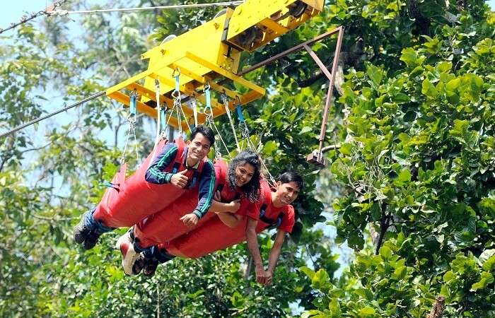 flying fox rishikesh
