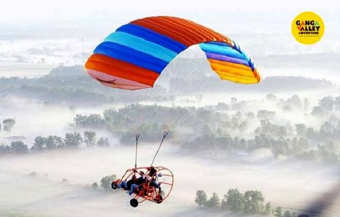rishikesh parasailing