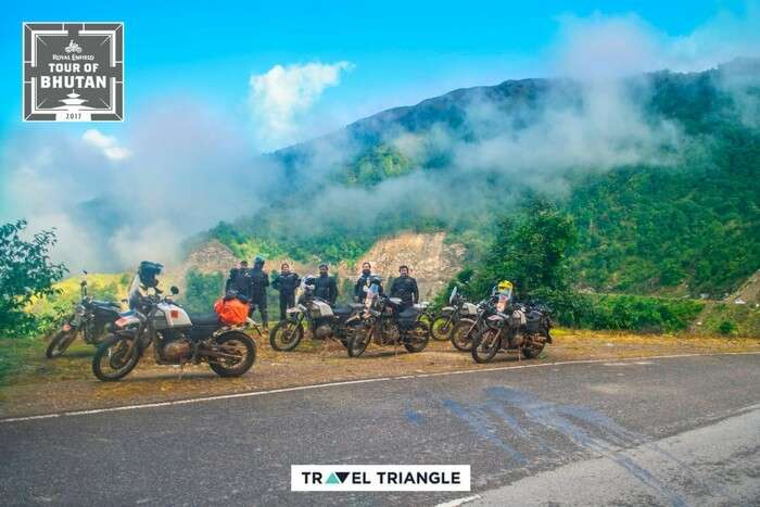 the royal enfield bike trips 2017 group cover