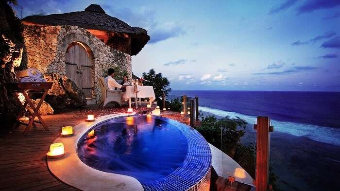 romantic place to stay in bali