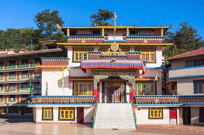monastery in gangtok