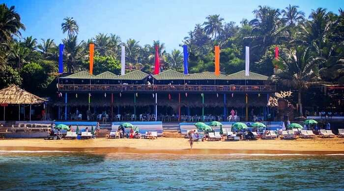 Curlies Beach Shack Goa