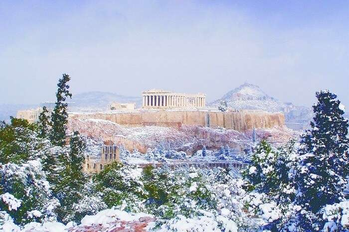 Weather Of Greece In December