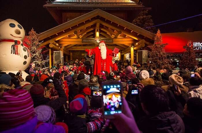 Christmas in Rovaniemi, Lapland