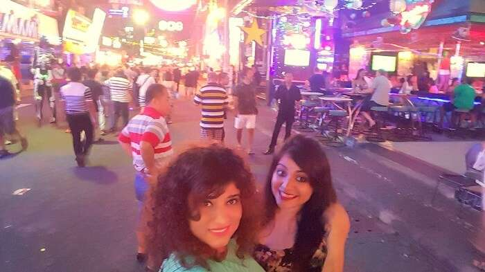 partying in pattaya