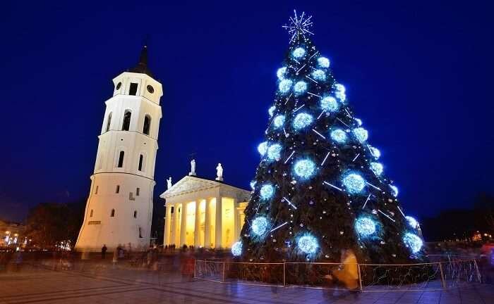 Vilnius in Lithuania