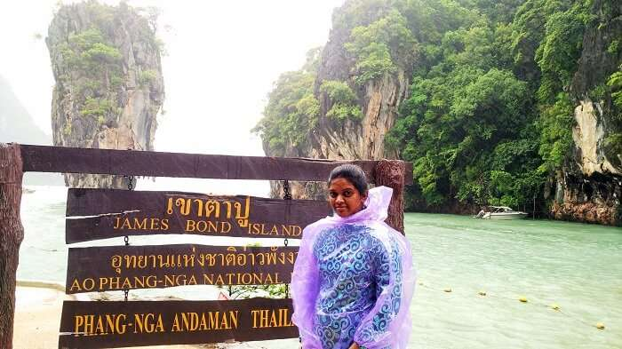 James Bond Island Tour on Honeymoon