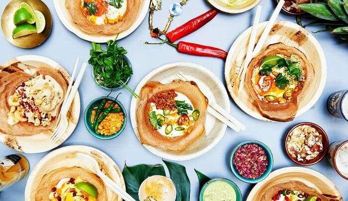 Sri Lankan delicacies in Colombo