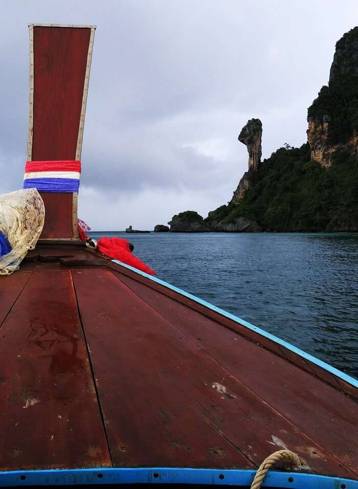 Boating in Phuket on honeymoon
