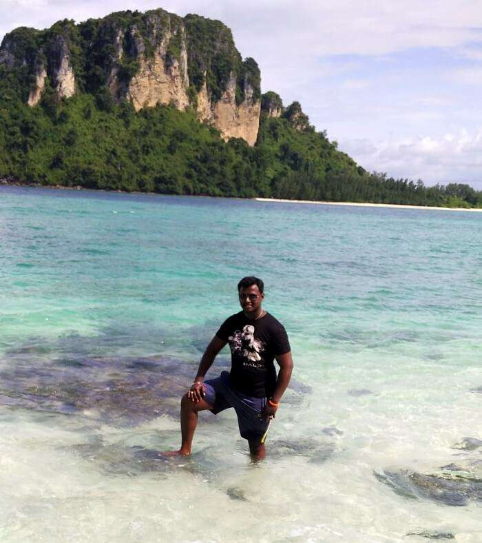 Island hopping in Krabi on honeymoon