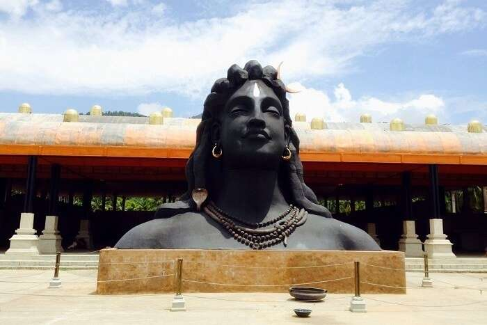 Adiyogi Shiva Statue in Coimbatore