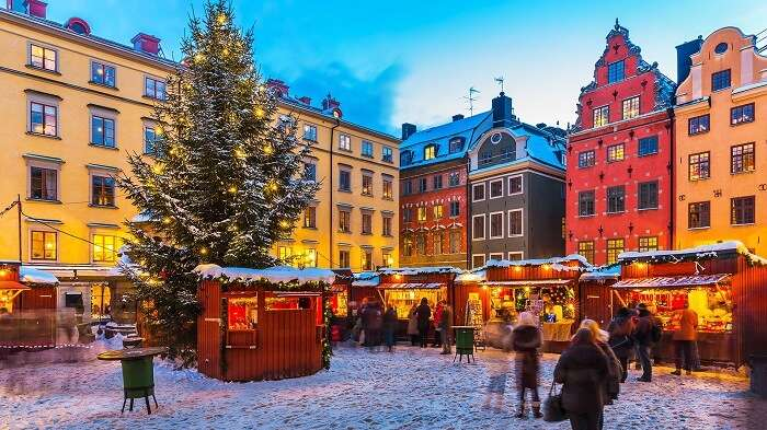 Christmas at Stockholm, Sweden